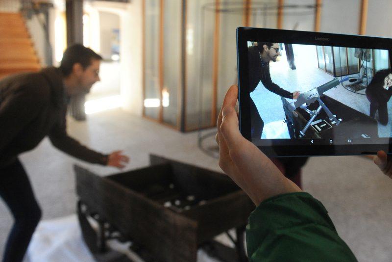 app realta aumentata su tablet